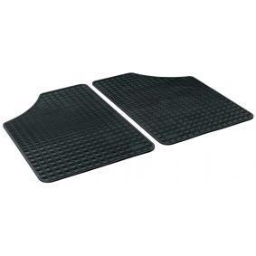 14901 WALSER Skräddarsytt gummi, Bak, Antal: 2, svart Set med golvmatta 14901 köp lågt pris