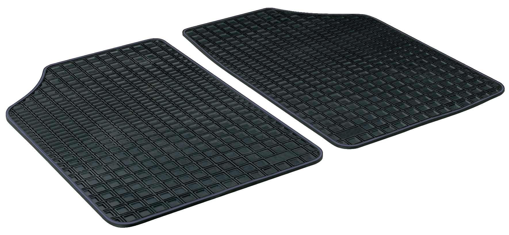 14902 WALSER Maßgefertigt, Blueline Premium Gummi, hinten, Menge: 2, schwarz Autofußmatten 14902 günstig kaufen