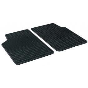 14903 WALSER Maßgefertigt Gummi, hinten, Menge: 2, schwarz Fußmattensatz 14903 kaufen