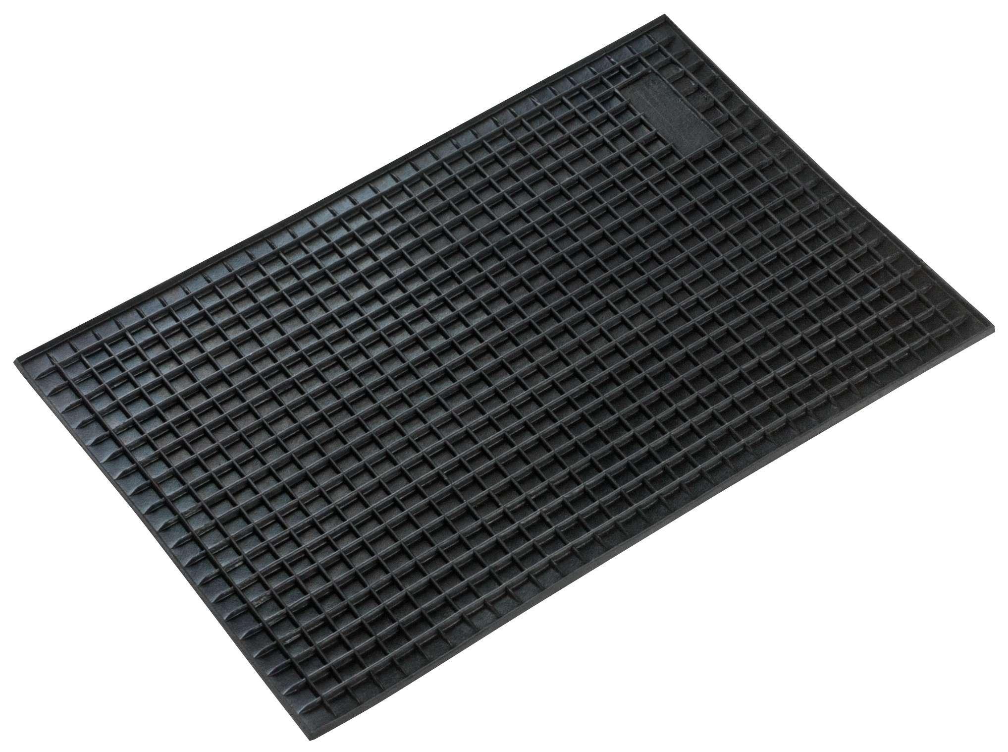 Achat de 14938 WALSER Adaptation universelle, Rectangle Caoutchouc, Quantité: 1, noir Taille: 43 x 29 Ensemble de tapis de sol 14938 pas chères