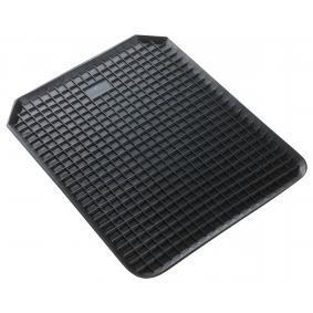 14941 WALSER Universeel geschikt Rubber, Aantal: 1, Zwart Grootte: 53 x 41 Vloermatset 14941