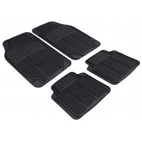 28003 WALSER Universelle passform Gummi, vorne und hinten, Menge: 4, schwarz Fußmattensatz 28003 kaufen