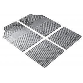 28053 WALSER Universelle passform PVC, vorne und hinten, Menge: 4, schwarz, weiß Fußmattensatz 28053 kaufen
