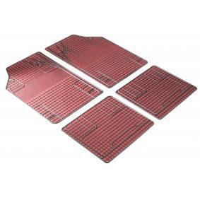 28055 WALSER Universelle passform PVC, vorne und hinten, Menge: 4, schwarz, rot Fußmattensatz 28055 kaufen