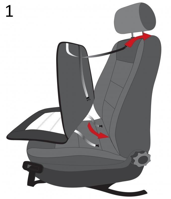 WALSER | Sitzheizungsauflage 16794