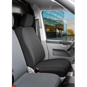 10502 WALSER Front, Grey, Polyester, Leatherette, Quantity Unit: Piece Number of Parts: 2-part Seat cover 10502 cheap