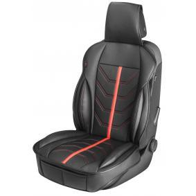 13989 WALSER Driver side, Black, Red, Leatherette, Quantity Unit: Piece Seat cover 13989 cheap