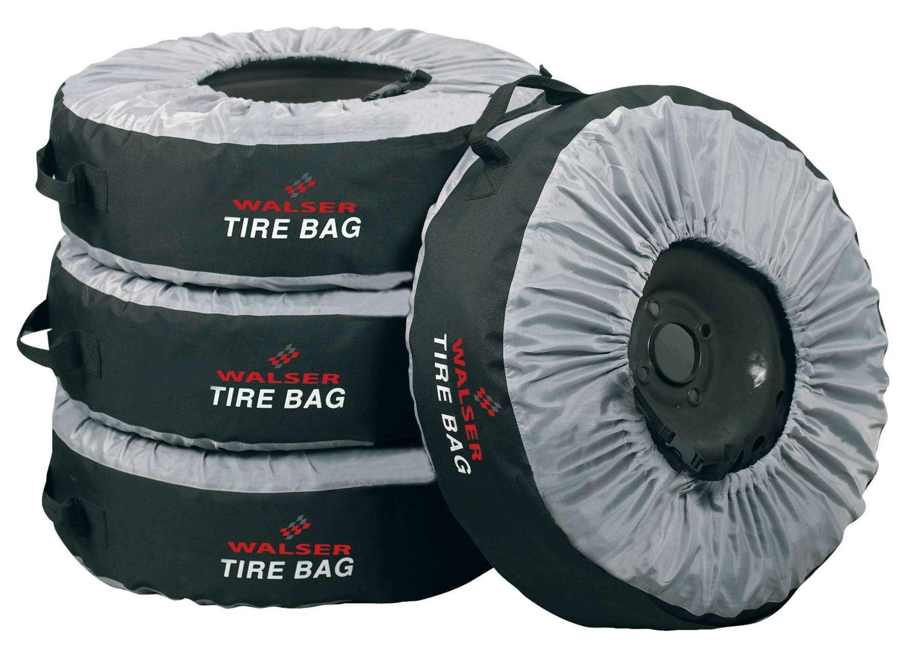 Comprare 13711 WALSER grigio, nero, 13, 14, 15, 16, 17Inch Copri pneumatici 13711 poco costoso