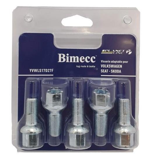 Hjulbultar och hjulmuttrar YVWLS17D27F som är helt BIMECC otroligt kostnadseffektivt