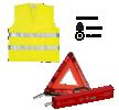 PL7248 Varoituskolmio Sarja sisältää: Varoituskolmio, Heijastinliivi PLANET LINE-merkiltä pienin hinnoin - osta nyt!
