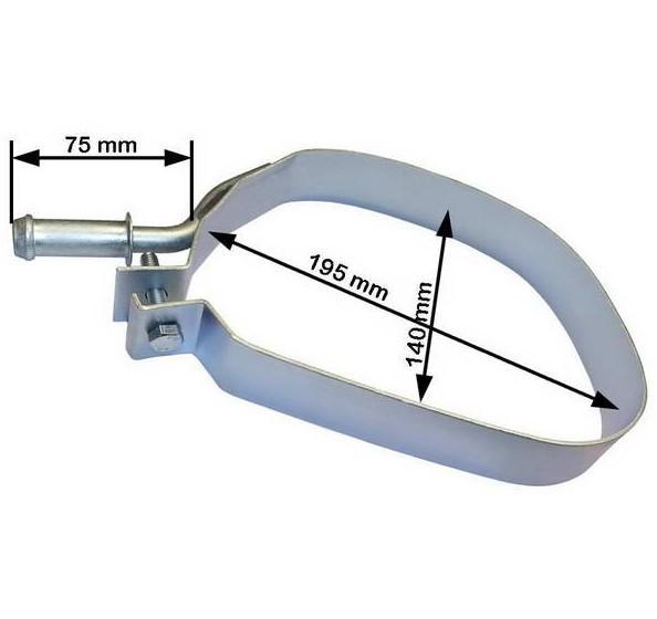 Montagesatz Abgasrohr PL4042 rund um die Uhr online kaufen