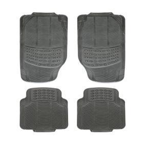 93-011 VIRAGE Universell passform gummi, fram och bak, Antal: 4, svart Set med golvmatta 93-011 köp lågt pris