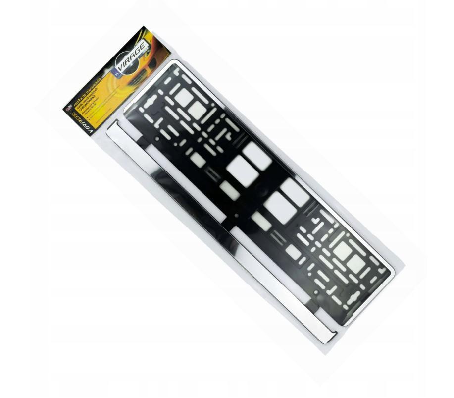 Köp VIRAGE 93-036 - Nummerskyltshållare: krom Kvalitet: PP/PS
