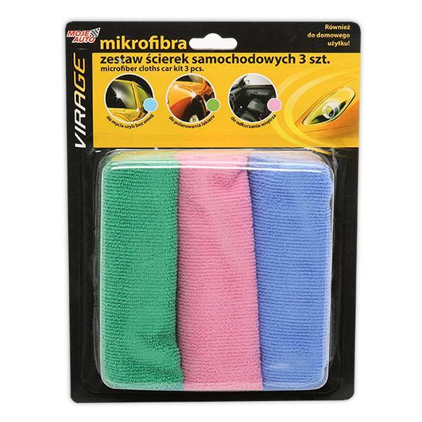 97-008 VIRAGE Shampoo+, Antal: 3, Mikrofiber Handrengöringsdukar 97-008 köp lågt pris