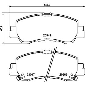 Kühler, Motorkühlung HELLA 8MK 376 702-894 mit 15% Rabatt kaufen