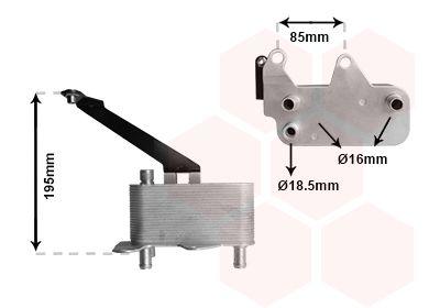 Automatikgetriebe Ölkühler VAN WEZEL 02013700