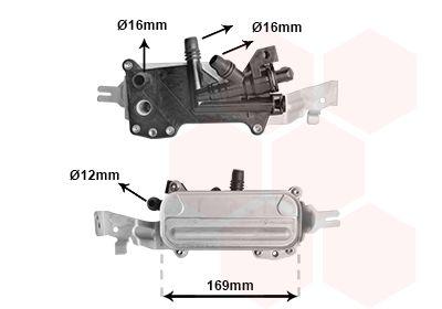 Getriebe Ölkühler VAN WEZEL 06013710