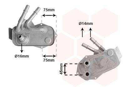 Automatikgetriebe Ölkühler VAN WEZEL 06013733