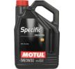 originali MOTUL Olio motore per auto 3374650257877 0W-30, 5l