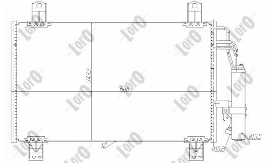 0300160026 Klimakondensator ABAKUS 030-016-0026 - Große Auswahl - stark reduziert