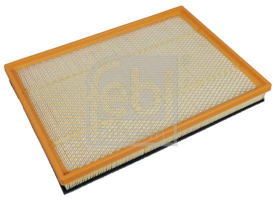 FEBI BILSTEIN: Original Motorluftfilter 108175 (Länge: 394mm, Länge: 394mm, Breite: 283,0mm, Höhe: 48mm)