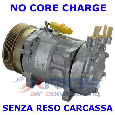 Original PEUGEOT Klimakompressor K11372R