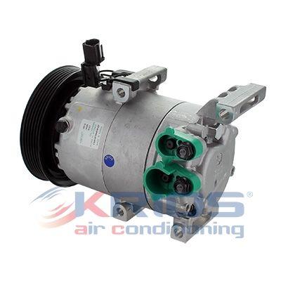 K19136 MEAT & DORIA Riemenscheiben-Ø: 125mm Klimakompressor K19136 günstig kaufen