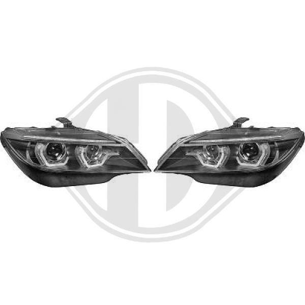 BMW Z4 2015 Autoscheinwerfer - Original DIEDERICHS 1251481