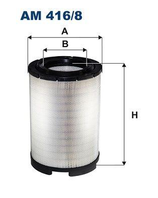 FILTRON Filtr powietrza do SCANIA - numer produktu: AM 416/8
