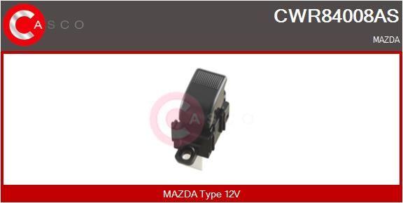 CASCO: Original Elektrische Fensterheber Schalter CWR84008AS (Anschlussanzahl: 5)