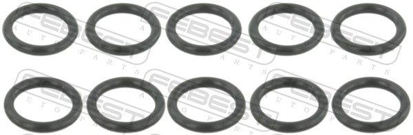 MINI Coupe Dichtring, Kühlmittelrohrleitung - Original FEBEST RINGOL-033-PCS10