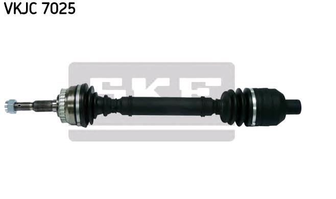 OPEL CALIBRA 1990 Halbachse - Original SKF VKJC 7025 Länge: 654mm, Außenverz.Radseite: 33, Zähnez. ABS-Ring: 29