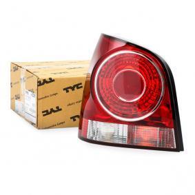 11-1116-01-2 TYC links, ohne Lampenträger Lichtscheibenfarbe: rot Heckleuchte 11-1116-01-2 günstig kaufen