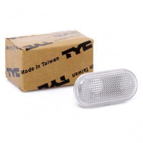 18-0529-01-2 TYC weiß, seitlicherEinbau, ohne Lampenträger Blinkleuchte 18-0529-01-2 günstig kaufen
