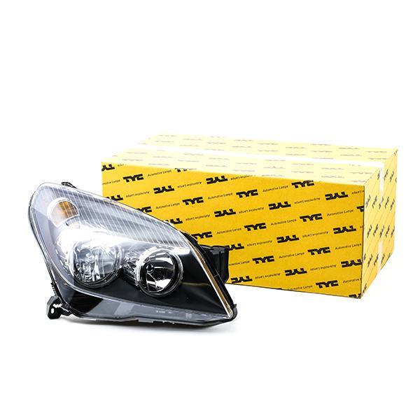 TYC: Original Autoscheinwerfer 20-0389-05-2 (Fahrzeugausstattung: für Fahrzeuge mit Leuchtweiteregelung (elektrisch))