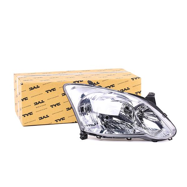 TYC: Original Autoscheinwerfer 20-1051-05-2 (Fahrzeugausstattung: für Fahrzeuge mit Leuchtweiteregelung (elektrisch))
