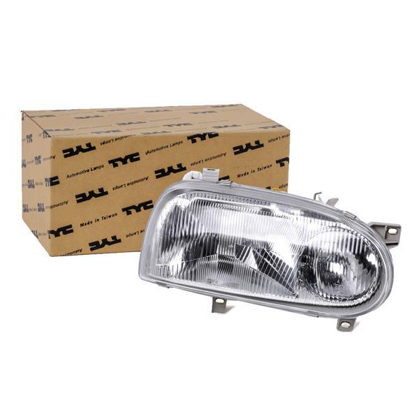 TYC: Original Hauptscheinwerfer 20-5017-08-2 (Links-/Rechtsverkehr: für Rechtsverkehr, Fahrzeugausstattung: für Fahrzeuge mit Leuchtweiteregelung (elektrisch))
