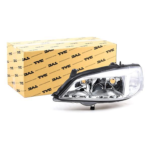 TYC: Original Scheinwerfer Set 20-5488-08-2 (Fahrzeugausstattung: für Fahrzeuge mit Leuchtweiteregelung (elektrisch))