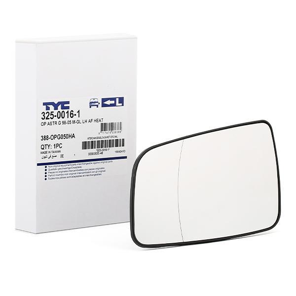 TYC: Original Außenspiegelglas 325-0016-1 ()