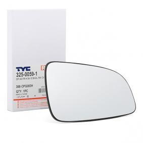 van Wezel 3781832 Spiegelglas Außenspiegel rechts