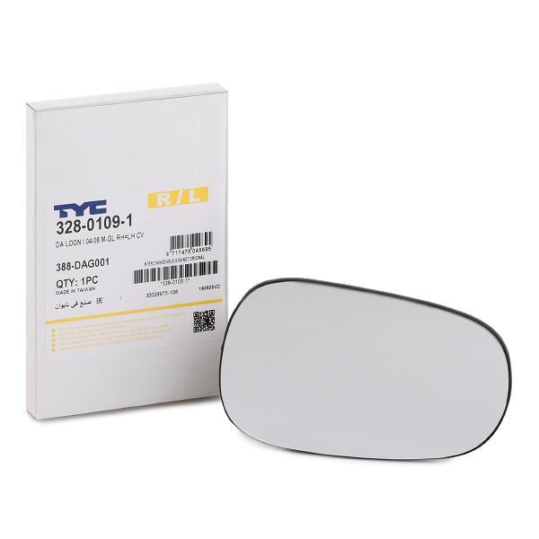 Spiegelglas TYC 328-0109-1