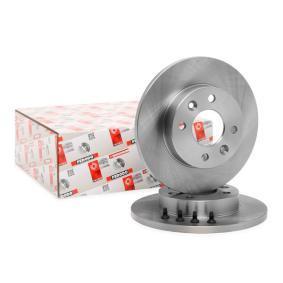 DDF055C FERODO PREMIER Voll, mit Schrauben Ø: 238mm, Lochanzahl: 4, Bremsscheibendicke: 12mm Bremsscheibe DDF055 günstig kaufen