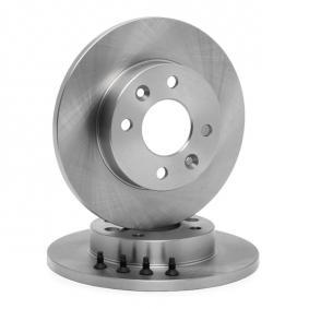 DDF055 Bremsscheibe FERODO DDF0551 - Große Auswahl - stark reduziert