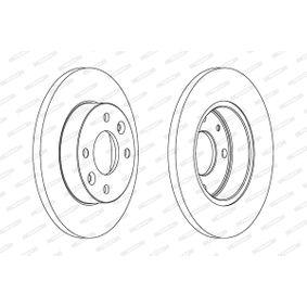 DDF055 Bremsscheiben FERODO in Original Qualität