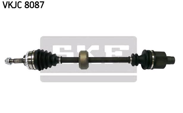 SKF: Original Antriebswellen & Gelenke VKJC 8087 (Länge: 724mm, Außenverz.Radseite: 21, Zahnlücken Getriebeseite Anschl. Getriebe: 23, Zähnez. ABS-Ring: 26)