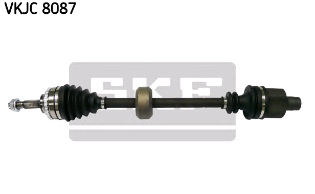 SKF VKJC 8087 (Longueur: 724mm, Denture extérieure, côté roue: 21, Dent. int., côté diff., conn. bte: 23, Nbre. de dents, anneau ABS: 26) : Cardan de transmission et joint homocinétique Renault Kangoo kc01 2018