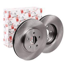 DDF1125C FERODO PREMIER belüftet, ohne Schrauben Ø: 300mm, Lochanzahl: 5, Bremsscheibendicke: 24mm Bremsscheibe DDF1125 günstig kaufen