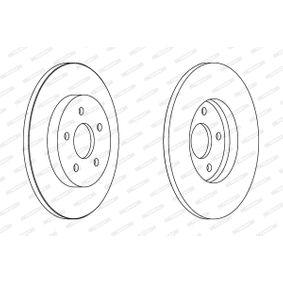 DDF1126 Bremsscheibe FERODO DDF11261 - Große Auswahl - stark reduziert