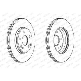 DDF1135 Bremsscheiben FERODO in Original Qualität