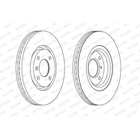 """DDF1152 Disque de frein FERODO - L""""expérience à prix réduits"""